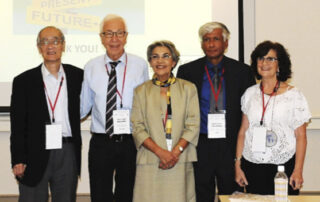 ICG Expresidents with the new president